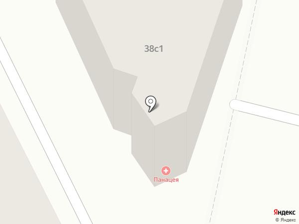 Панацея на карте Волгограда
