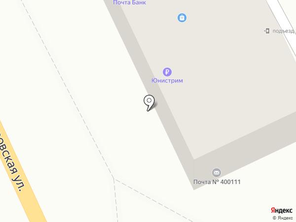 Почтовое отделение №72 на карте Волгограда