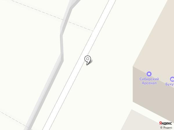 Антоновка на карте Волгограда