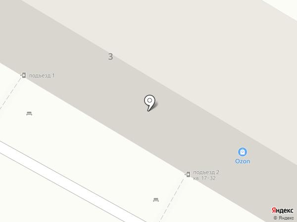 Сервис-ВАД на карте Волгограда