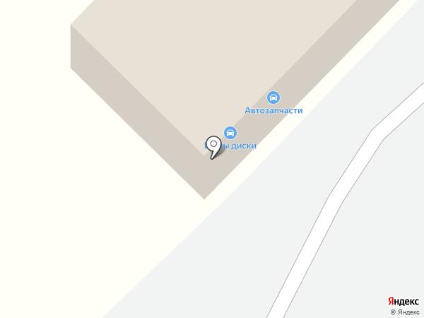 Дальнобой на карте Волгограда