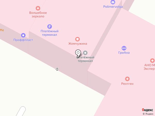 Школа репетиторов на карте Волгограда