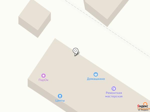 Магазин мяса и яиц на карте Волгограда