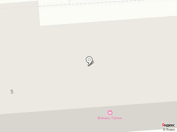 Букатин Луг на карте Краснослободска