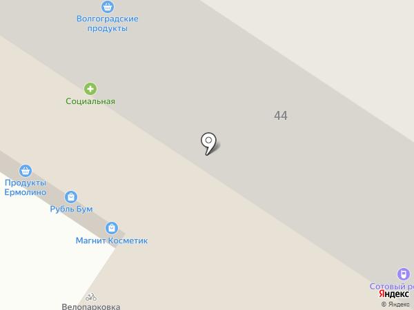 Грузоперевозки Волгоград на карте Волгограда