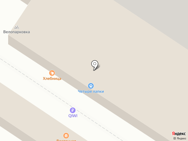 Магазин косметики и пряжи на карте Волгограда