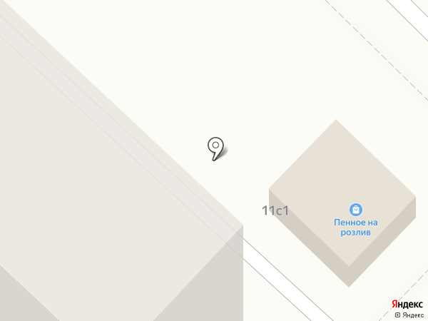 Каштан на карте Волгограда