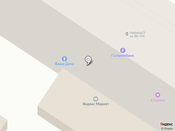 Дачник на карте Волгограда