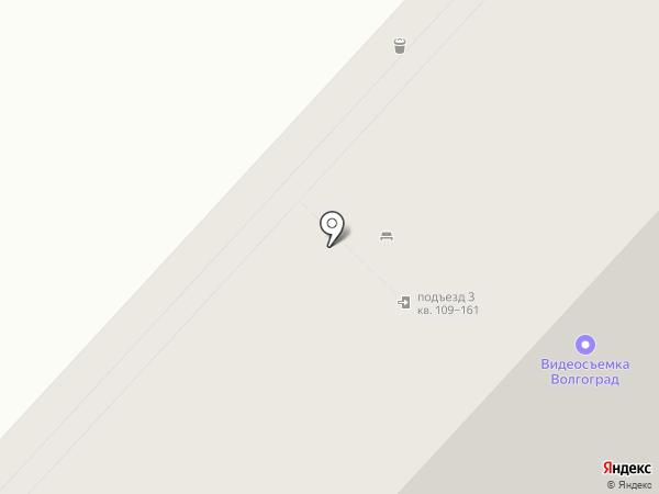 Стильная на карте Волгограда