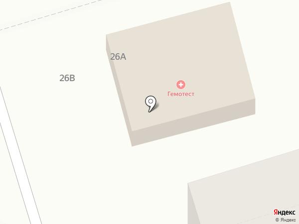 Диалайн на карте Волгограда