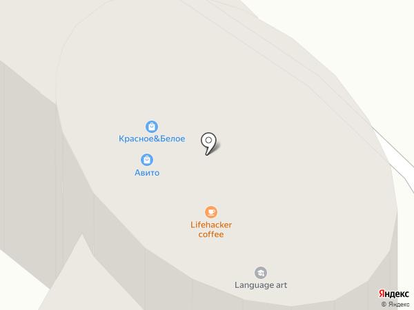 Лесенка на карте Волгограда