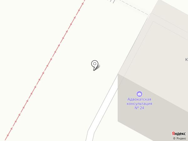 Волгоградская межрайонная коллегия адвокатов на карте Волгограда