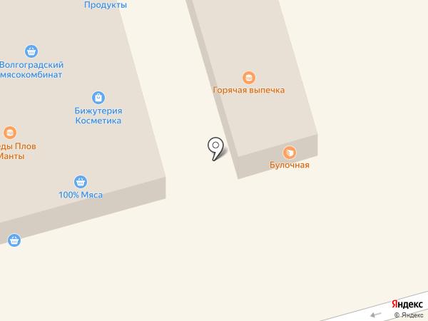 Магазин головных уборов на карте Волгограда
