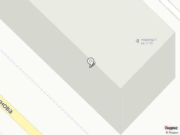 Пенная заправка на карте Волгограда