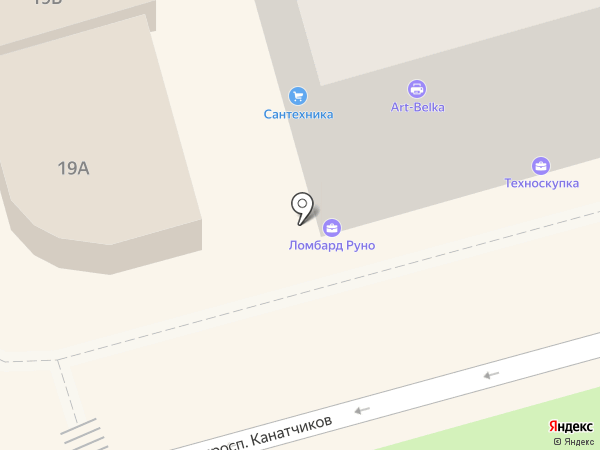Магазин сантехники на карте Волгограда