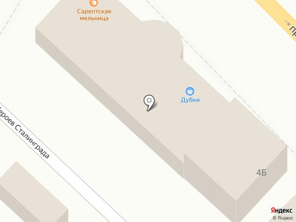 Банкомат, Банк Финансовая корпорация Открытие, ПАО на карте Волгограда