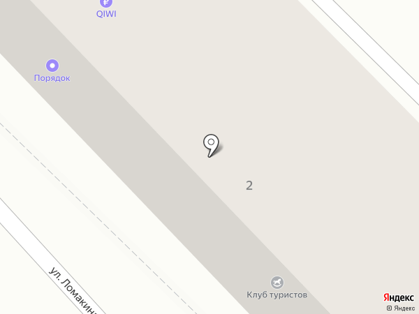 Кондор на карте Волгограда