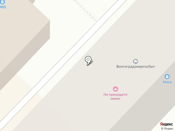 Волгоградэнергосбыт на карте Волгограда
