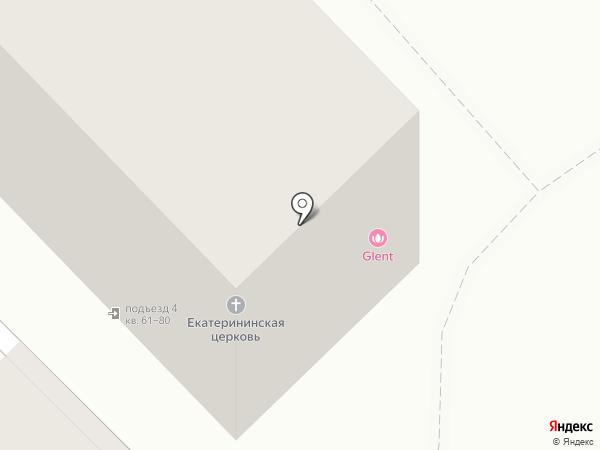 Glent на карте Волгограда