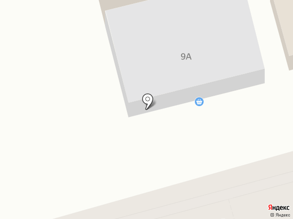 Фламинго на карте Волгограда