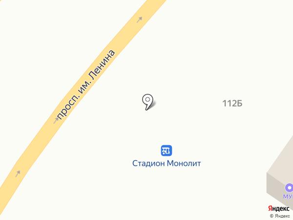 Магазин цветов на ул. Генерала Штеменко на карте Волгограда