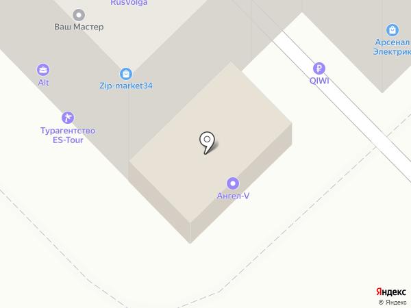 Союз-Принт на карте Волгограда