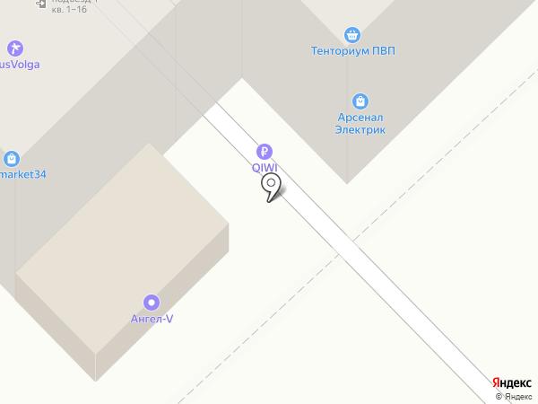 Мир для взрослых на карте Волгограда