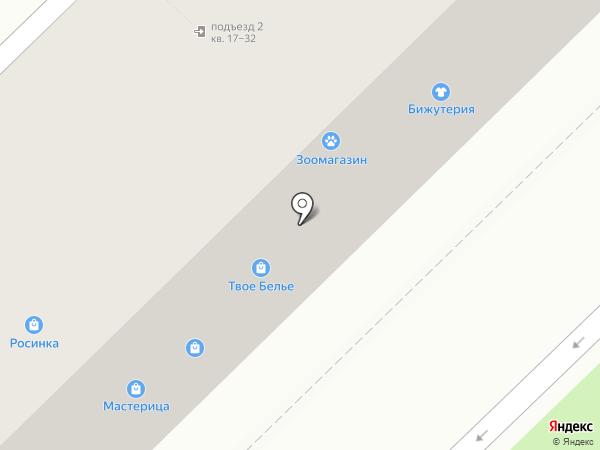 Магазин детского трикотажа на карте Волгограда