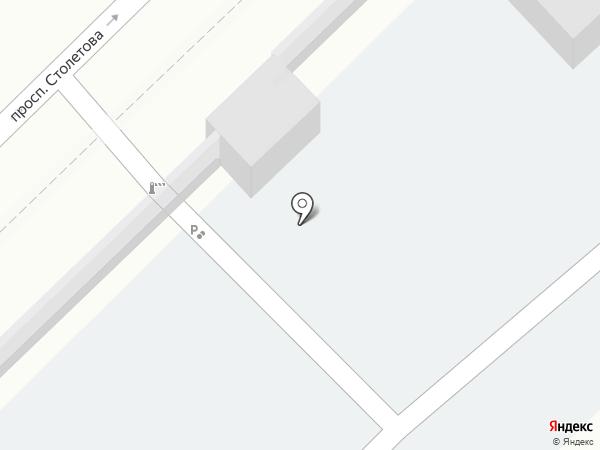 Ремонтная мастерская на карте Волгограда
