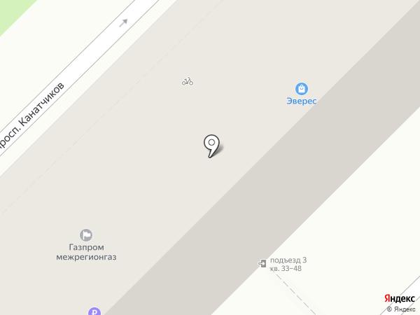 Профком на карте Волгограда