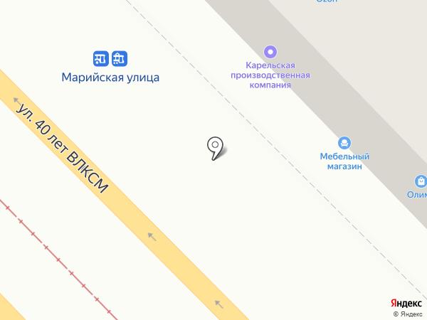 КПИ на карте Волгограда