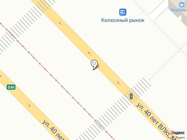 Бойня на карте Волгограда
