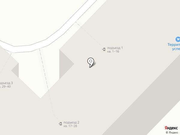 Пенуэл на карте Волгограда