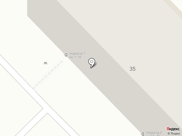 Игруля на карте Волгограда