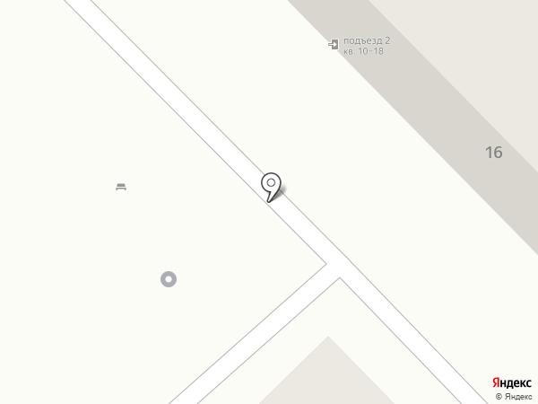Ля флёр на карте Волгограда