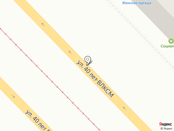 Обувной магазин на карте Волгограда