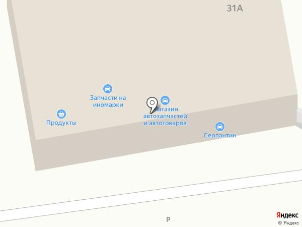 Сароса на карте Краснослободска