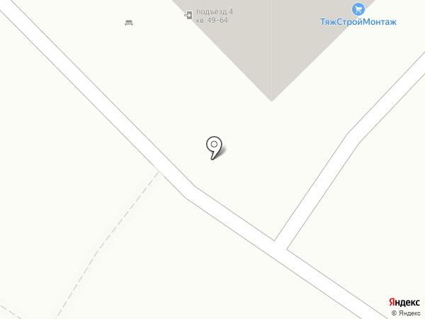 ТяжСтройМонтаж на карте Волгограда