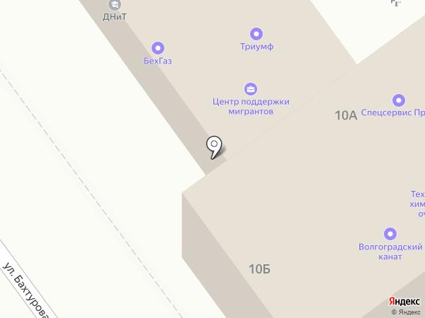 TogeMebel на карте Волгограда