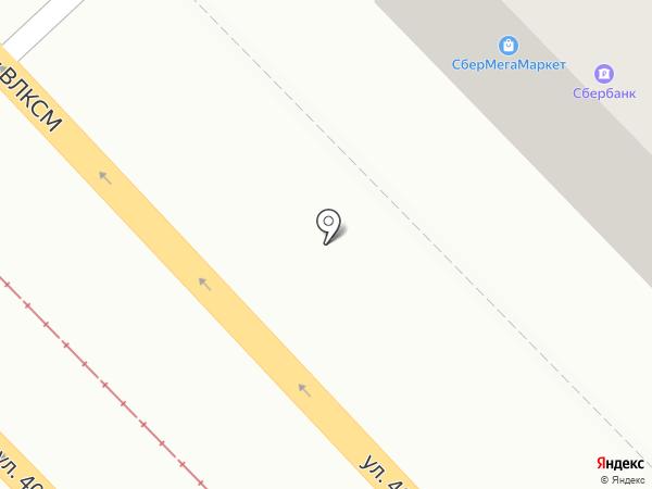 Магазин запчастей на карте Волгограда