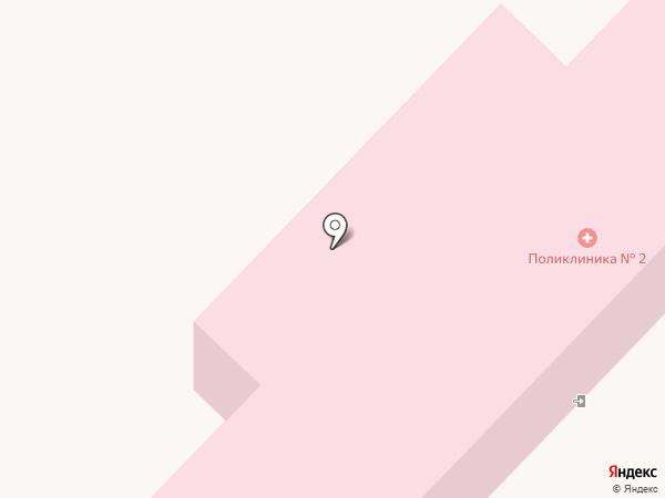 Поликлиника №8 на карте Волгограда