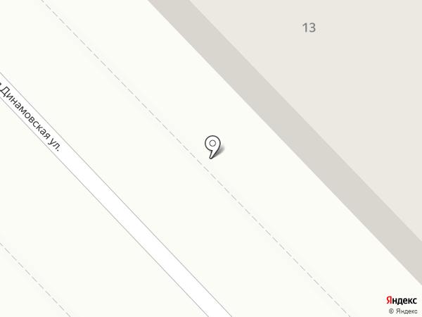Участковый пункт полиции на карте Волгограда
