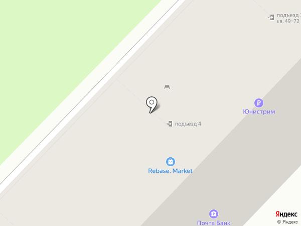 Везёт на карте Волгограда