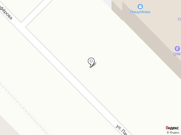 МАН на карте Волгограда
