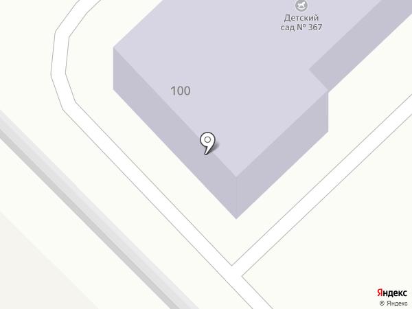 Детский сад №113 на карте Волгограда