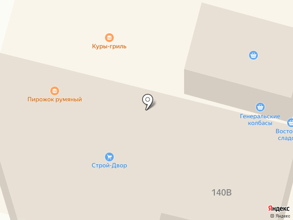 Строй двор на карте Краснослободска
