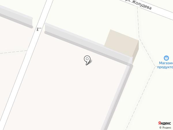 Волжаночка на карте Волгограда
