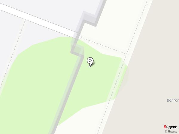 Кирилица на карте Волгограда