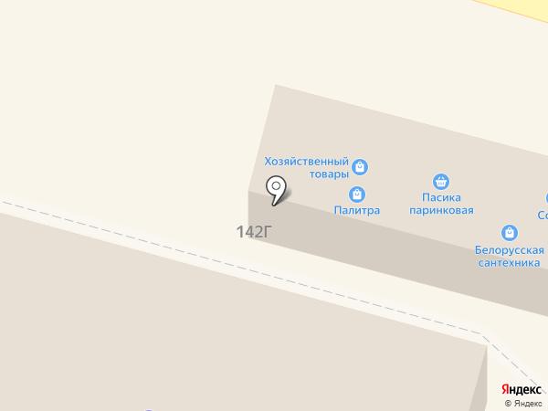 Сластенка на карте Краснослободска