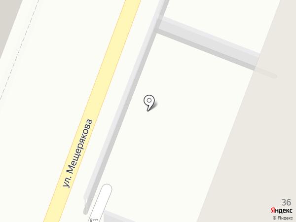 Управление Росгвардии на карте Волгограда